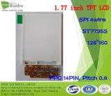 1.77 Zoll 128*160 Spi LCD Dispay ersetzen Tianma TM018fdz83 TM018fdz52