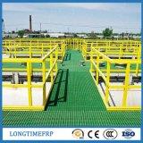 Tracción de cojinete de alta carga y estación de Skytrain Rejilla de suelo FRP
