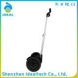 Dévoiler le scooter électrique d'équilibre d'individu de la roue 15km/H deux