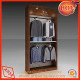 Estantes de visualización de madera de la ropa para el almacén