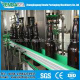 Maquinaria de enchimento da cerveja do frasco de vidro