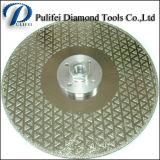 Het zilver laste het Blad van de Cirkelzaag voor het Knipsel van de Plak van het Graniet