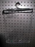 Прочный прозрачный мешок вешалки PVC пластичный с застежкой -молнией