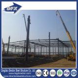 Structures préfabriquées d'atelier de matériau de construction d'acier économique