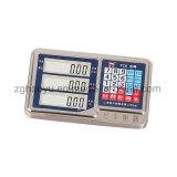 LED/LCD 전시를 가진 무게를 다는 가늠자를 세는 디지털 작은 지면 1 톤