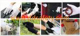 2017 Polka Ddsafety перчатки черные точки сад перчатки безопасность рабочей вещевого ящика