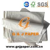Carta da imballaggio di colore della pergamina sottile bianca del cellofan in strato