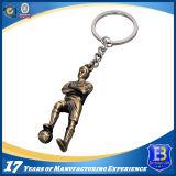 Corrente chave do metal feito sob encomenda da promoção para presentes da lembrança