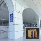 ألومنيوم جدار [كلدّينغ] خارجيّ معدن سقف مع [سغس]