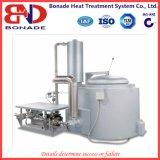 Tipo del riscaldamento di gas che inclina il forno a crogiolo per la fusione della lega di alluminio