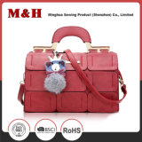 Splicing Women Shoulder Leather Hobo Satchel Tote Bags