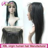 Pacotes brasileiros do cabelo do Virgin do fósforo perfeito com fechamento do laço