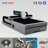 Hochgeschwindigkeits-YAG 850W Metalllaser-Scherblock-/Fiber Laser-Ausschnitt-Maschine
