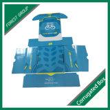 Aceitar recicláveis Ordem personalizada na caixa de embalagem azul