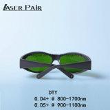 Marcação en207 óculos de segurança de laser de diodo de laser de diodo de remoção de pêlos a laser 1064nm, 980nm Equitment Beleza, Máquina de corte a laser /Laser de diodo 808nm