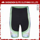 Оптовая торговля высокое качество модных зеленый велосипедные шорты для женщин (ELTCSI-22)