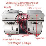 550W compresor del aerógrafo silencioso aceite del compresor de aire libre Cabeza