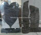 Vizagの青かヒマラヤ山脈の青い花こう岩記念碑または墓石または墓碑または墓石