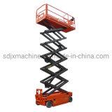 idraulici automotori di alta qualità 300kg di 6m 8m 10m12m Scissor l'elevatore che elettrici aerei Scissor l'elevatore