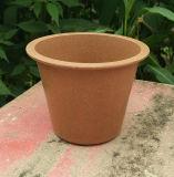 Cores sortidas biodegradáveis em vasos de fibra de bambu Jardim Vasos (BC-FP1027)