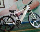 アルミ合金フレームのバイクの長距離スポーツの隠された電池が付いている電気マウンテンバイク