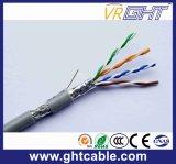 屋内Cat5/Cat5e FTP 24AWGの銅のコンダクターLANケーブル