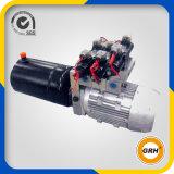 24V DC 수평한 두 배 임시 소형 전기 이동할 수 있는 유압 부속 덤프 트레일러를 위한 이동할 수 있는 전원함