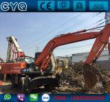 Excavadores usados de la rueda de Hitachi Ex160wd de la rueda para la venta