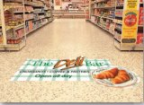 Custom Adhesive Floor Graphics Marca Floor Sticker Printing Floor Advertising
