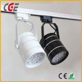 Ce RoHS COB 24W 30W CREE LED puce voie lampe à LED Spot LED PAR28 PAR30 un éclairage sur rail voie Lams