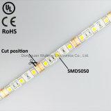 DC12V SMD5050 impermeabilizzano il nastro flessibile del LED per il disegno domestico