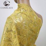Merletto personalizzato della rete del ricamo delle donne di disegno per il vestito dalle donne