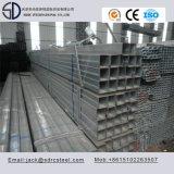 Tubulação de aço galvanizada mergulhada quente do quadrado do carbono Ss400