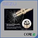Le mini port USB 2 5V sec d'alliage d'aluminium de l'universel 3.1A jeûnent chargeur de remplissage de véhicule