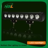Super Large Power Light Bar, Cool White Light, 80W Droite Single Row LED Light Bar