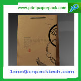 Bolsa de papel de Kraft de los bolsos del portador de la alta calidad que hace compras