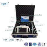 Pqwt-Cl500 Detector de fuga de água de tubagens subterrâneas ultra-sônicas, 4m