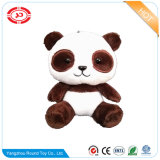 Cute White Soft Velboa Farcies Panda Plush OEM Toy