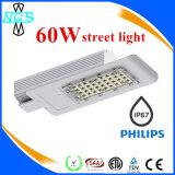 Éclairage extérieur 30-150W Meanwell Drvier et réverbère de la puce DEL de Philips