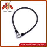 Jq8301黒いカラーロックの機密保護の自転車ロックパスワードロック
