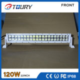 trabajo auto de la luz de conducción de 120W LED campo a través para el carro IP68 del coche