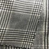 Ткань полиэфира, проверенная ткань для пальто, ткань костюма, ткань одежды, тканье