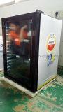 100L puerta de vidrio Mini Barra Refrigerador de Hotel