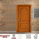 Portello interno solido alla moda di legno di quercia di vendita calda americana (GSP2-052)