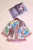 2017 пружину новых женщин Кореи моды китайские фанаты печать шерсть нанесите на