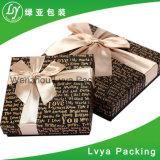 Ontwerp het van uitstekende kwaliteit Met de hand gemaakte Cmyk die van de Douane het Vouwbare Vakje van het Document van de Gift van de Chocolade Verpakkende afdrukken
