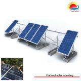 Supports de montage solaires économiques en alliage d'aluminium personnalisés (GD712)