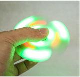 Hilandero verde y rosado de la persona agitada del altavoz de la mano del dedo del regalo LED