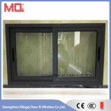 Guichet en aluminium de double vitrage de guichet de glissement de bâti