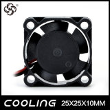 Ventilador de Fluxo Axial 25X25X10mm 3,3V 5V 12V pequenas mini fábrica do Ventilador do Motor DC Bom Preço